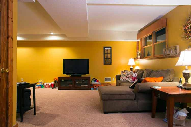 Design low ceiling basement remodel things you must know