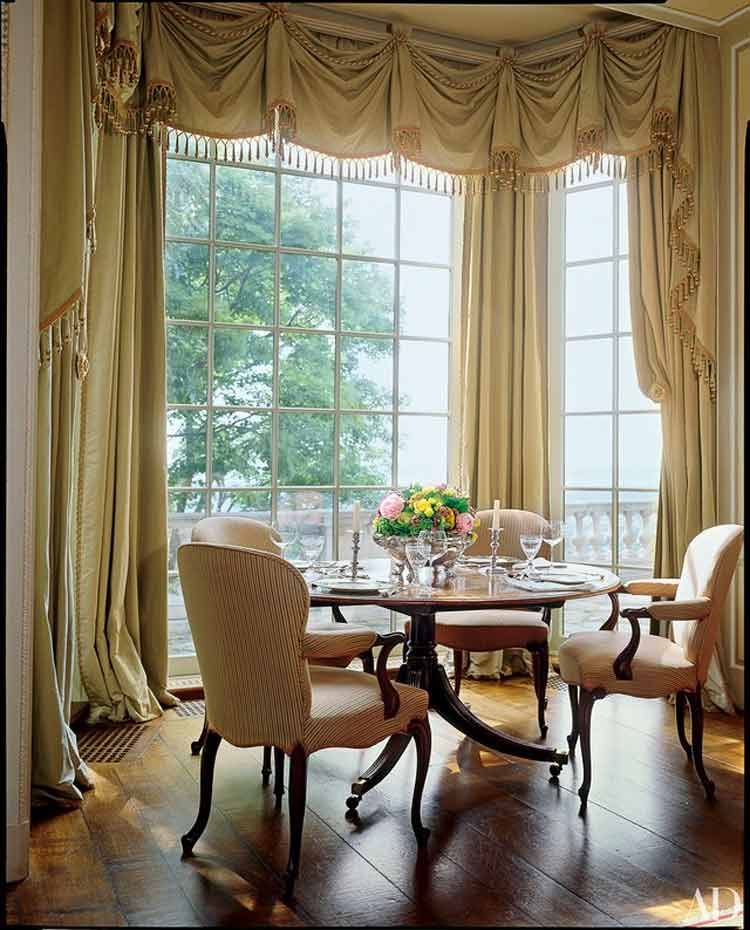 Cool bay window curtain rods For Your New Home