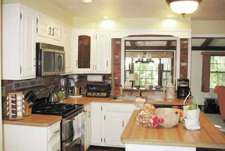 Cool center hall colonial kitchen remodel Homebuilding & Renovating