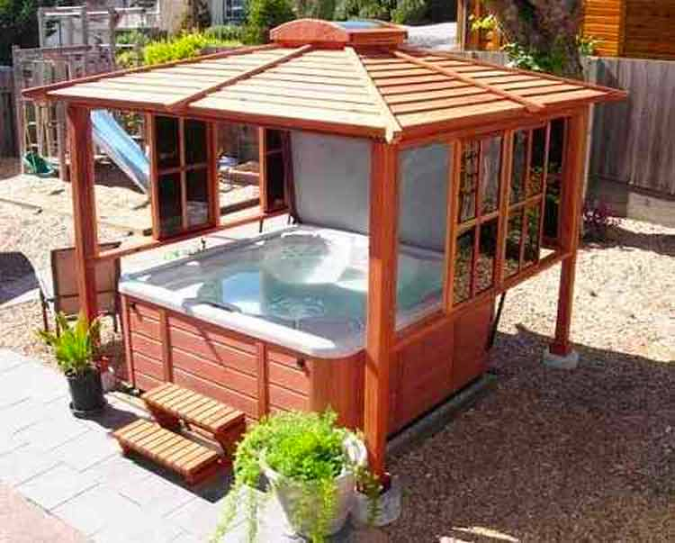 DIY spa hot tub cover Homebuilding & Renovating