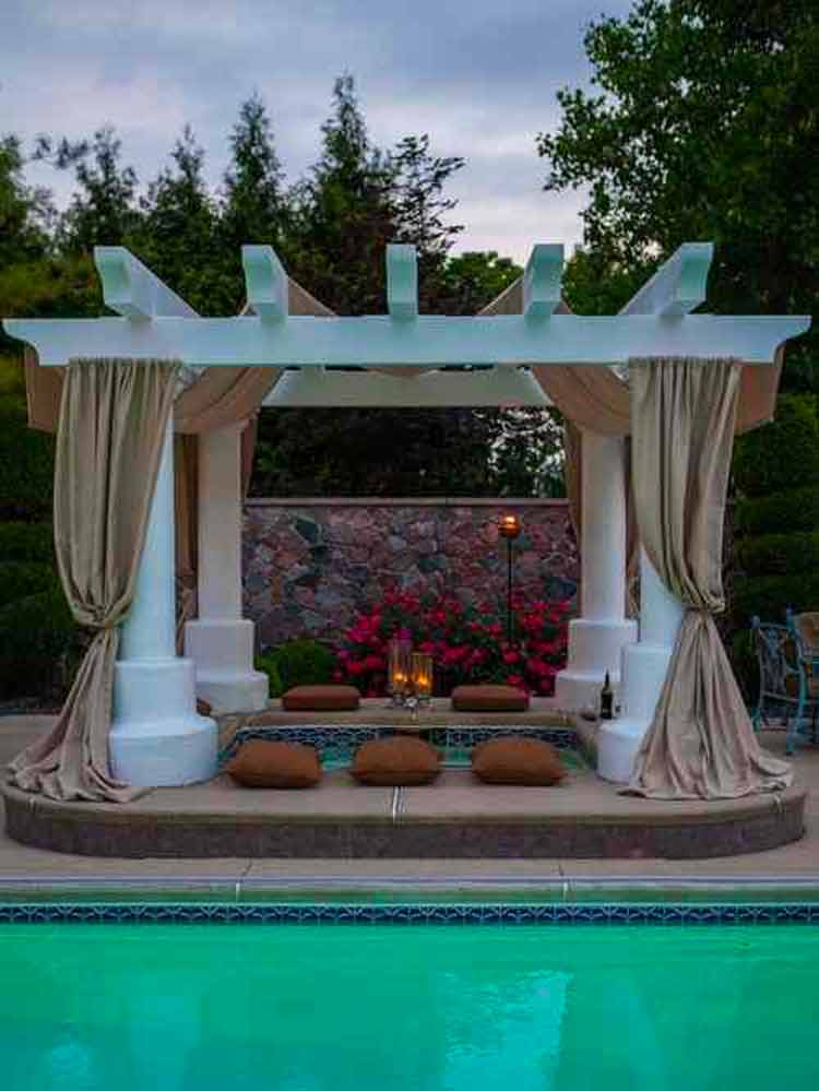 97 Most Mesmerizing And Super Cozy Hot Tub Cover Ideas