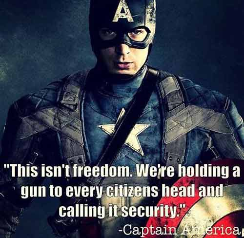 famous captain america quotes