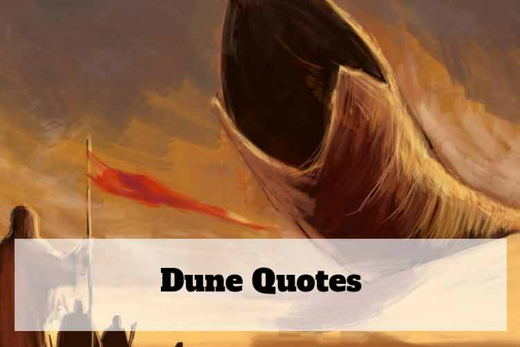 dune spice quotes