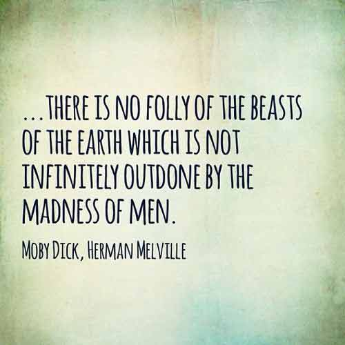 herman melville moby dick quotes