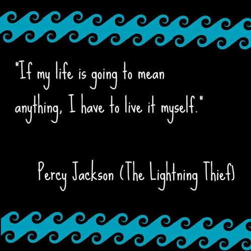 best percy jackson quotes