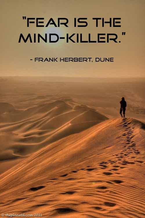 dune quotes with page numbers