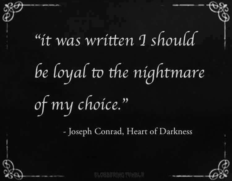 the heart of darkness quotes
