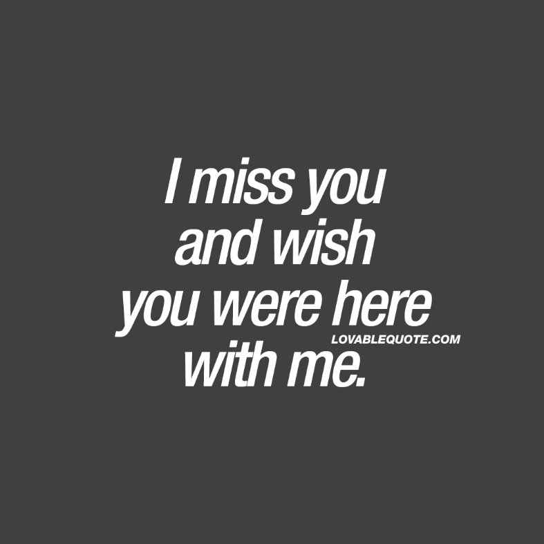 funny i miss you sayings