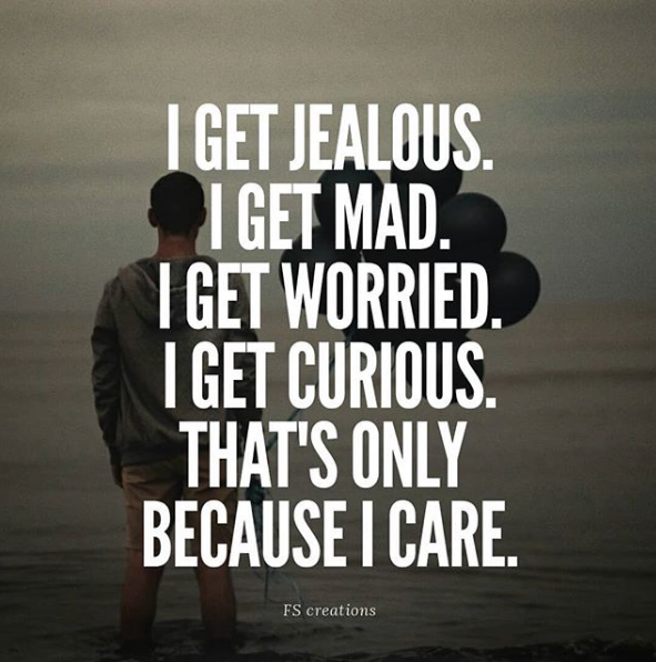 jealousy is ugly