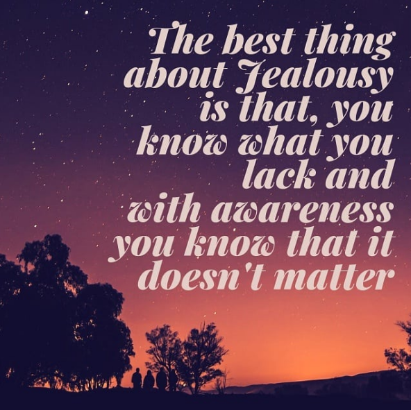 quotes jealousy is