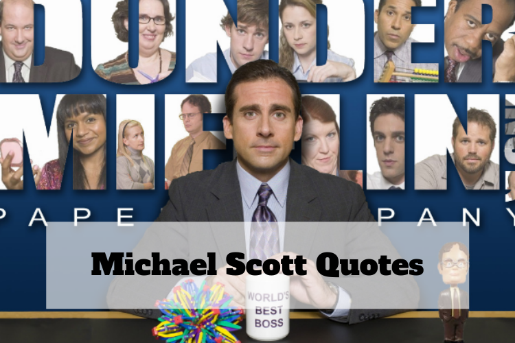 if michael scott quotes were motivational posters