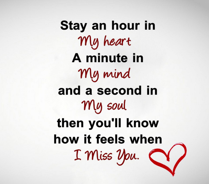 missing you so much quote