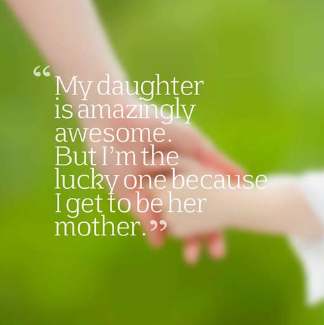 daughter quotes from mom