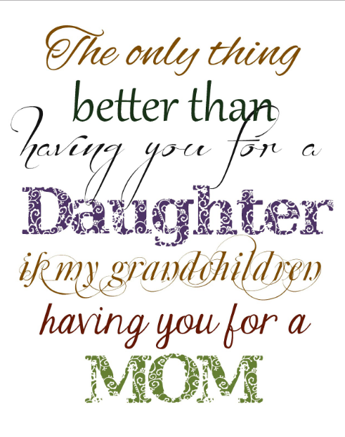 quotes about moms and daughters
