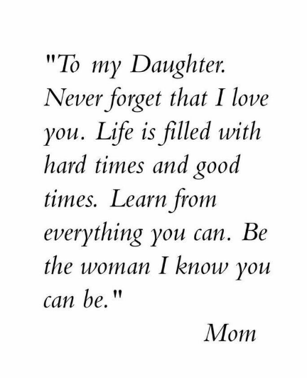 inspirational quotes for teenage daughters