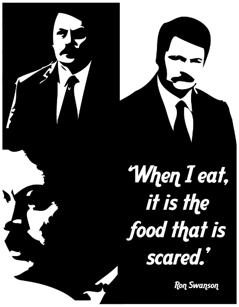 ron swanson quotes about breakfast