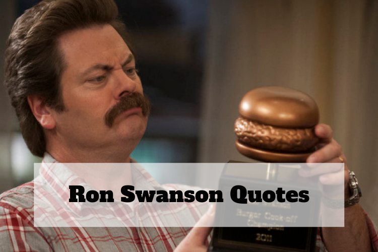 ron swanson quotes fishing