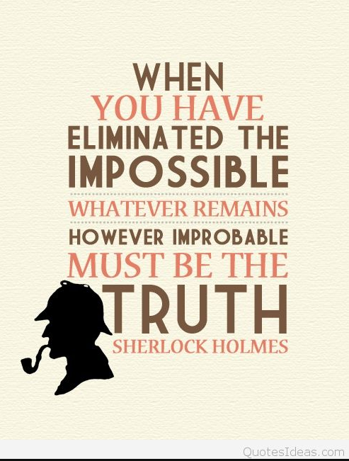 sherlock holmes inspirational quotes