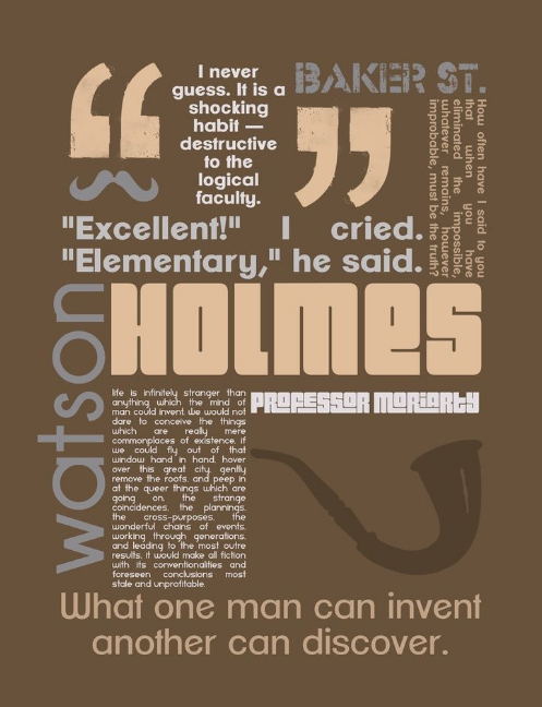 sherlock holmes quotes book