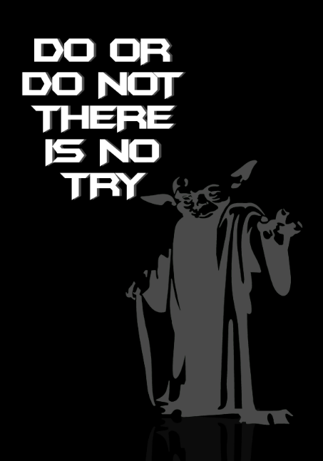 yoda quotes try not
