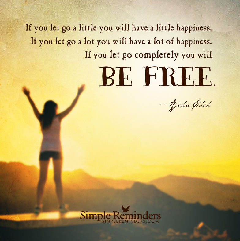 quote for letting go