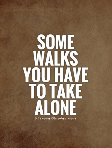 quotes about not being alone