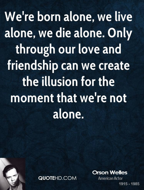 doing it alone quotes
