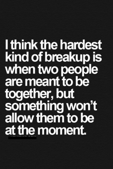 going through a break up quotes