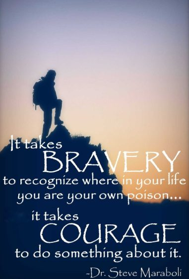 courage fear quotes
