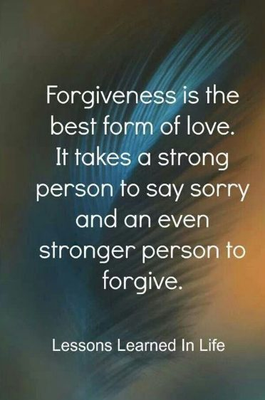 quotes on forgivness