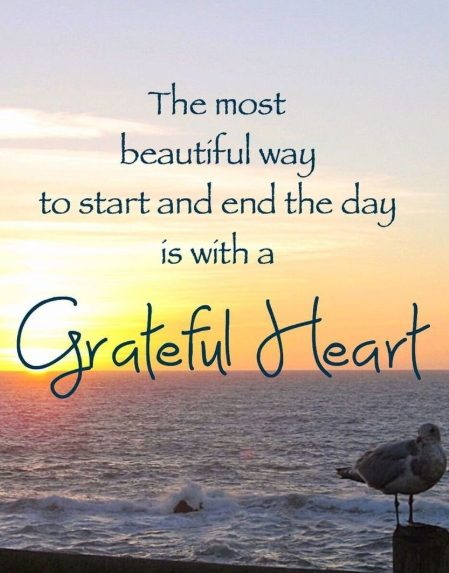 quote about being thankful