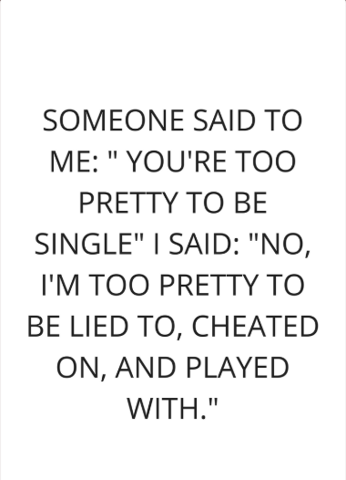 single is better quotes