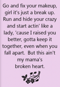 girls broken heart quotes