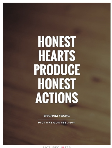 quotes on trust and honesty