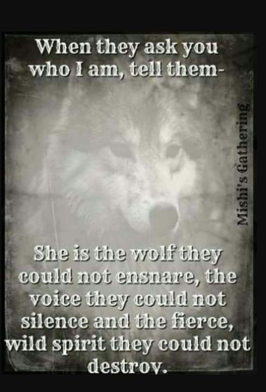 inspirational quotes about wolves