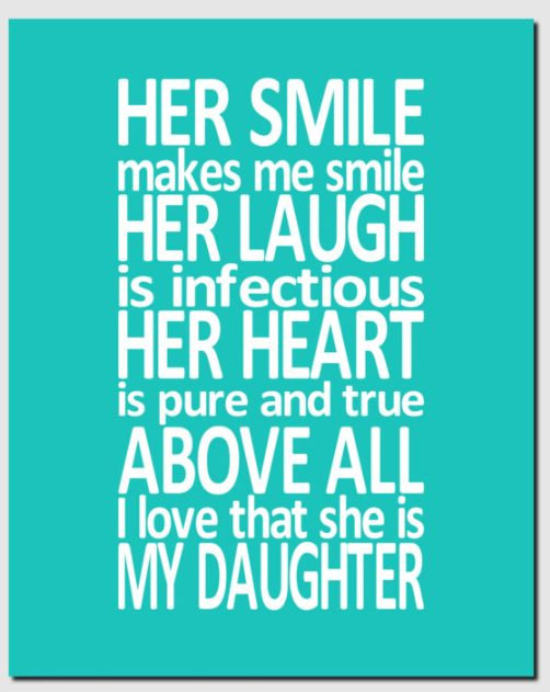 love your daughters quotes