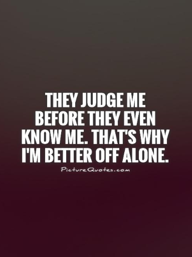being happy alone quotes