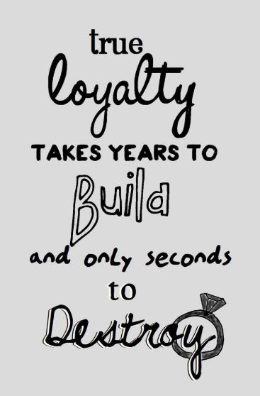 loyalty quotes instagram