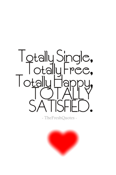 single forever quotes