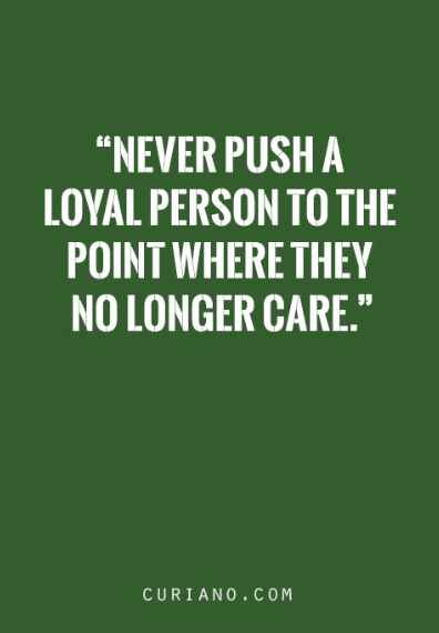 loyalty definition quotes