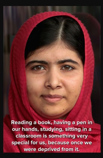 why is malala yousafzai famous