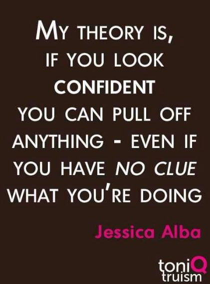 confidence sayings