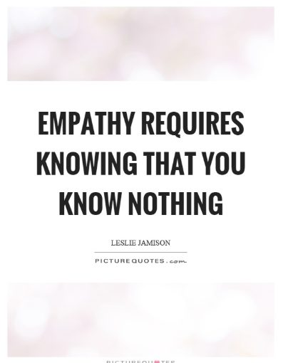 without empathy word