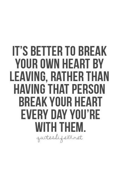 quote on breaking up