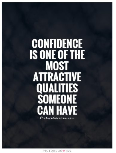 quotation on confidence