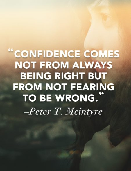 quotes about being confident in yourself