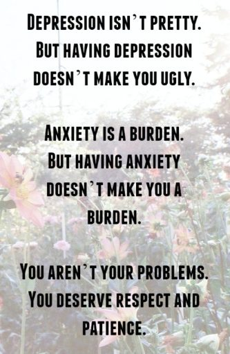 anxiety & depression quotes