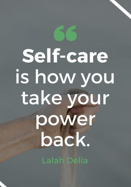 taking care of yourself first