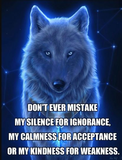 be a wolf quotes