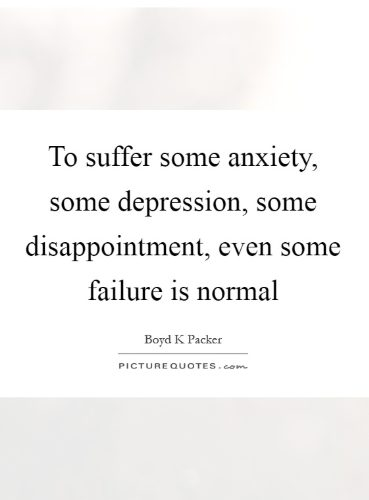 feeling stressed and depressed quotes